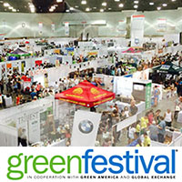Green Festival Expo - big crowd