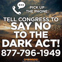 Tell Congress to Say No to the DARK Act!
