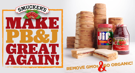 Smucker's: Make PB&J great again!