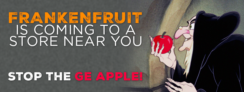 Frankinfruit is coming to a store near you. Stop GE apples!