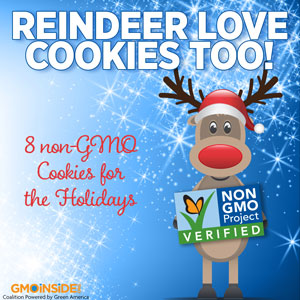 Reindeer love cookies too!