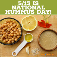 5/13 is national hummus day