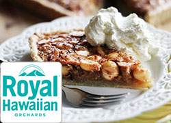 Royal Hawaiian macadamia nut pie