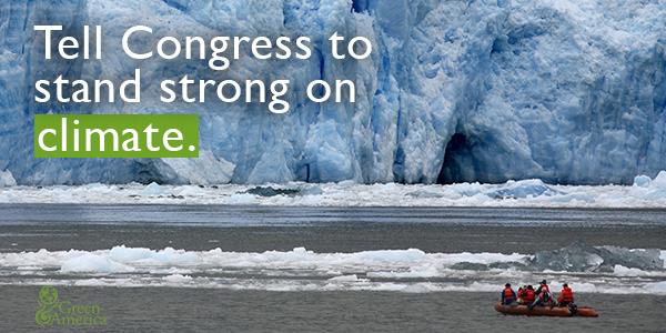 Tell Congress to stand strong on climate