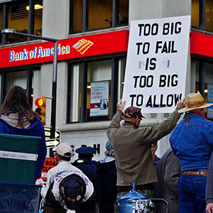 Too Big to Fail Is Too Big to Allow - Occupy Wall Street