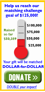 Help us reach our matching challenge goal of $125,000!