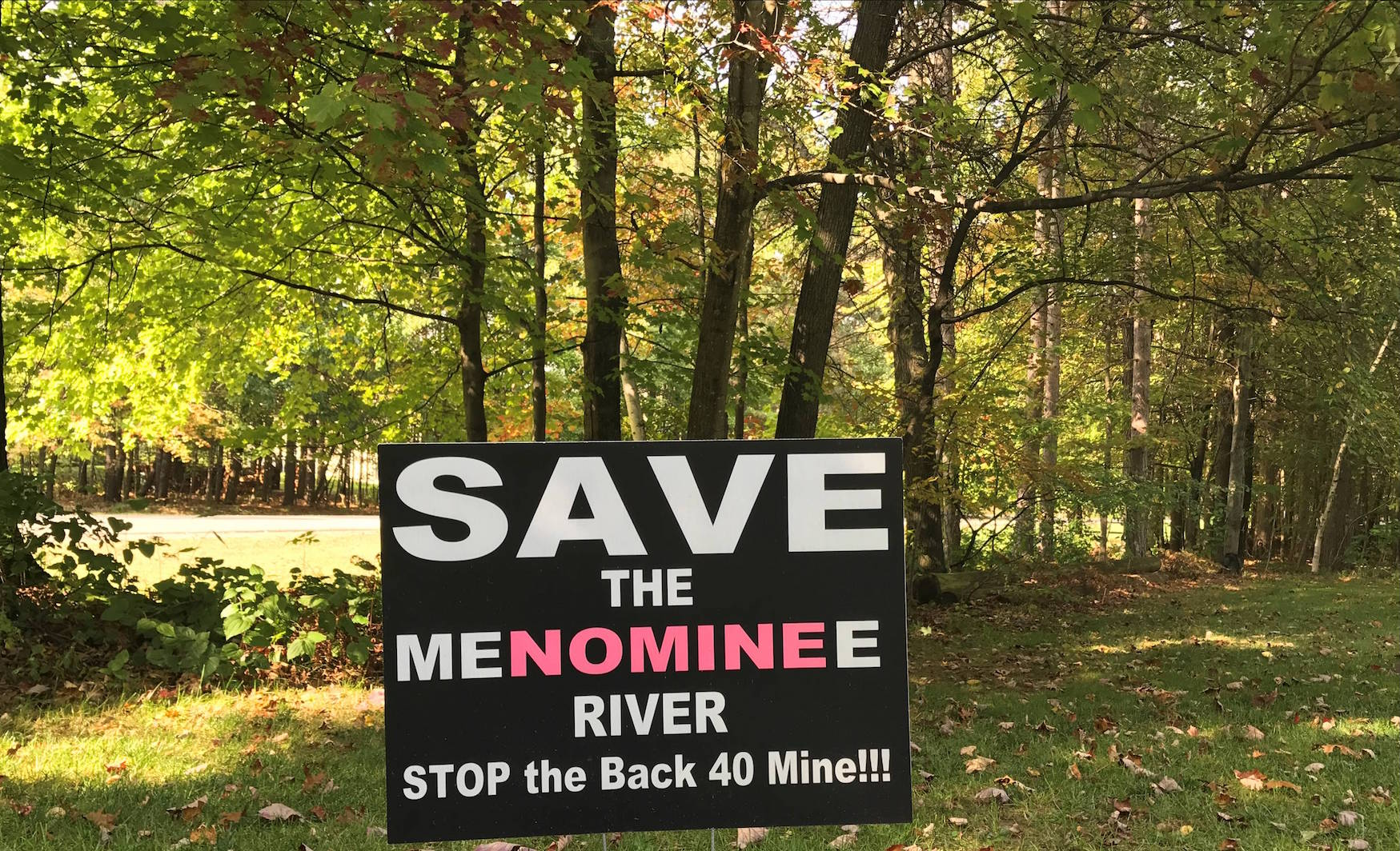 Save the Menominee River. Stop the Back 40 Mine!