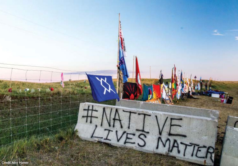 Standing Rock - native lives matter